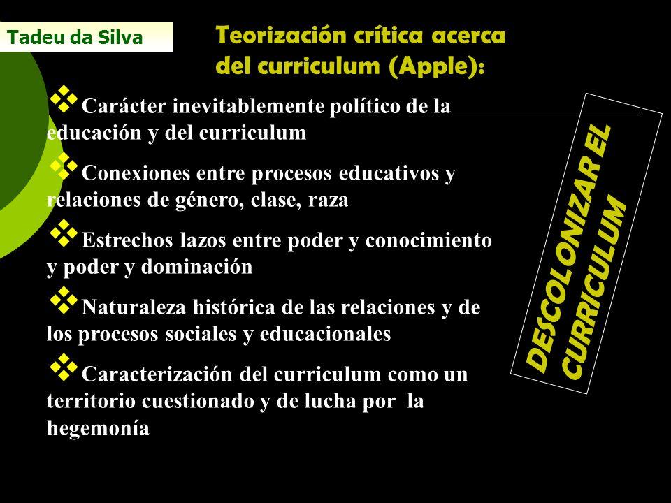 DESCOLONIZAR EL CURRICULUM