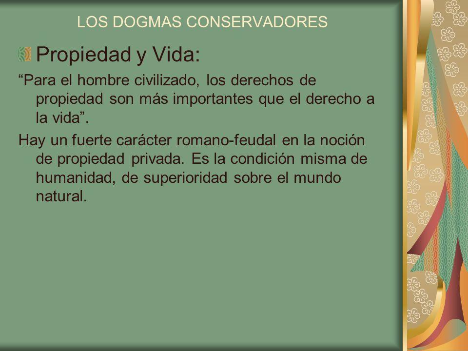 LOS DOGMAS CONSERVADORES