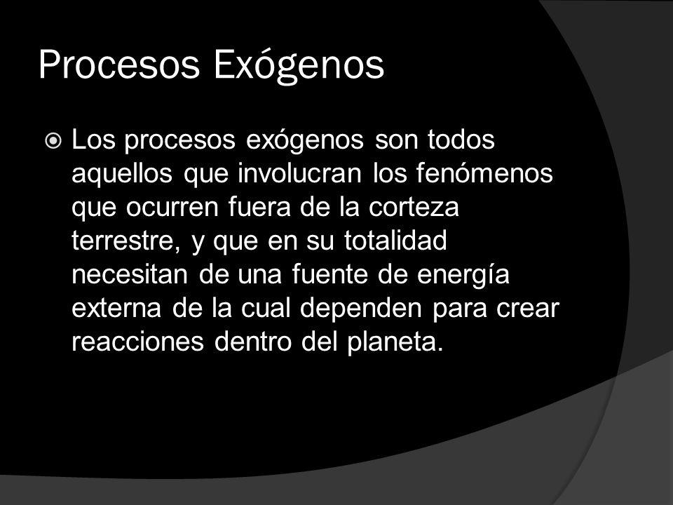 Procesos Exógenos