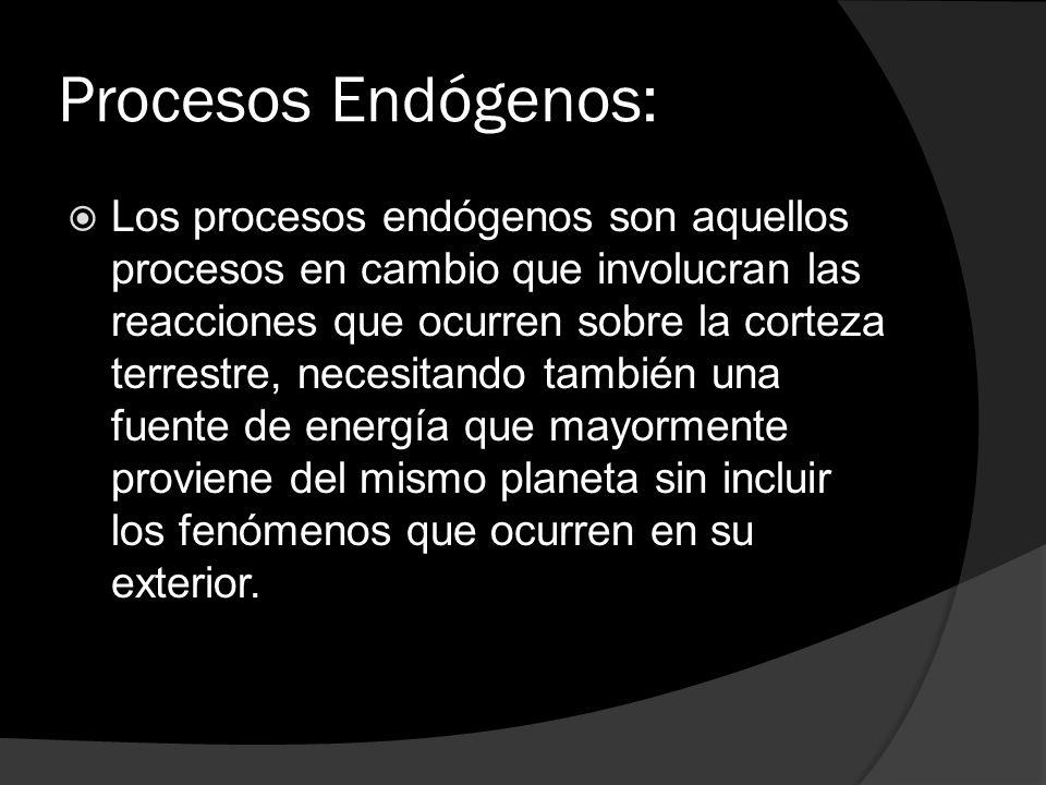 Procesos Endógenos: