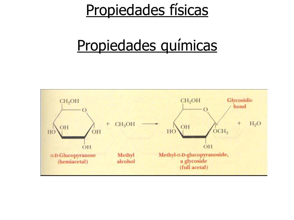 Propiedades físicas Propiedades químicas