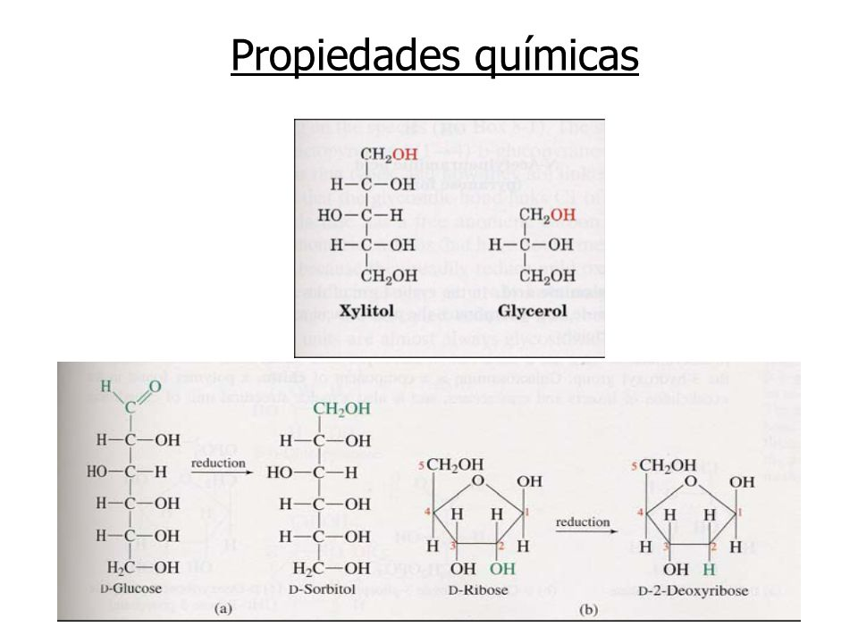 Propiedades químicas Reducción