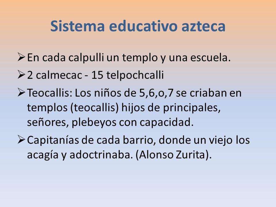 Sistema educativo azteca