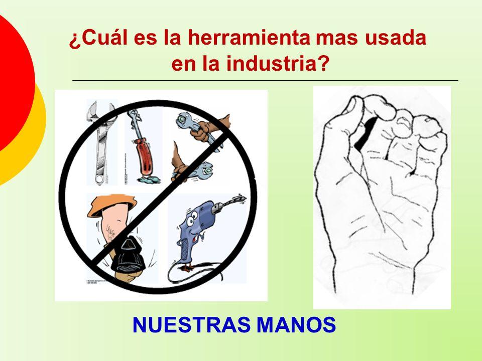 ¿Cuál es la herramienta mas usada en la industria