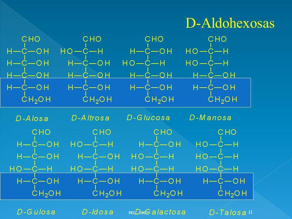 D-Aldohexosas PEL - 2002