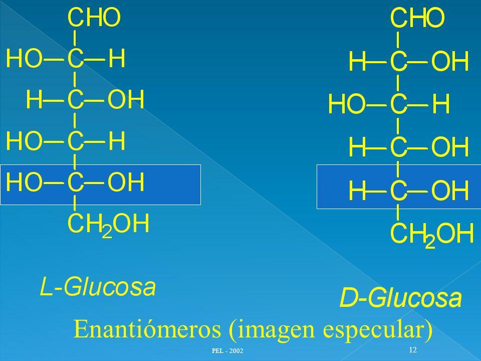 Enantiómeros (imagen especular)