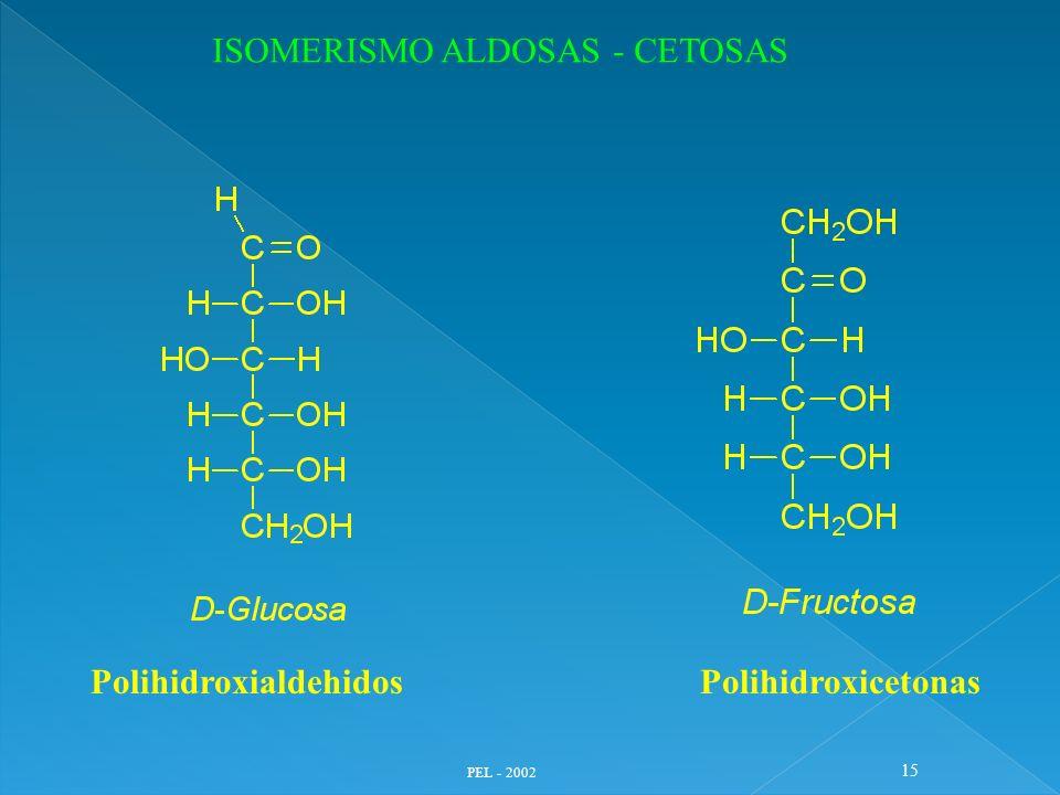 ISOMERISMO ALDOSAS - CETOSAS