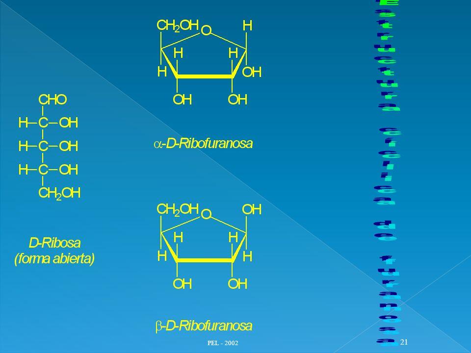 Estructura cíclica de furanosa