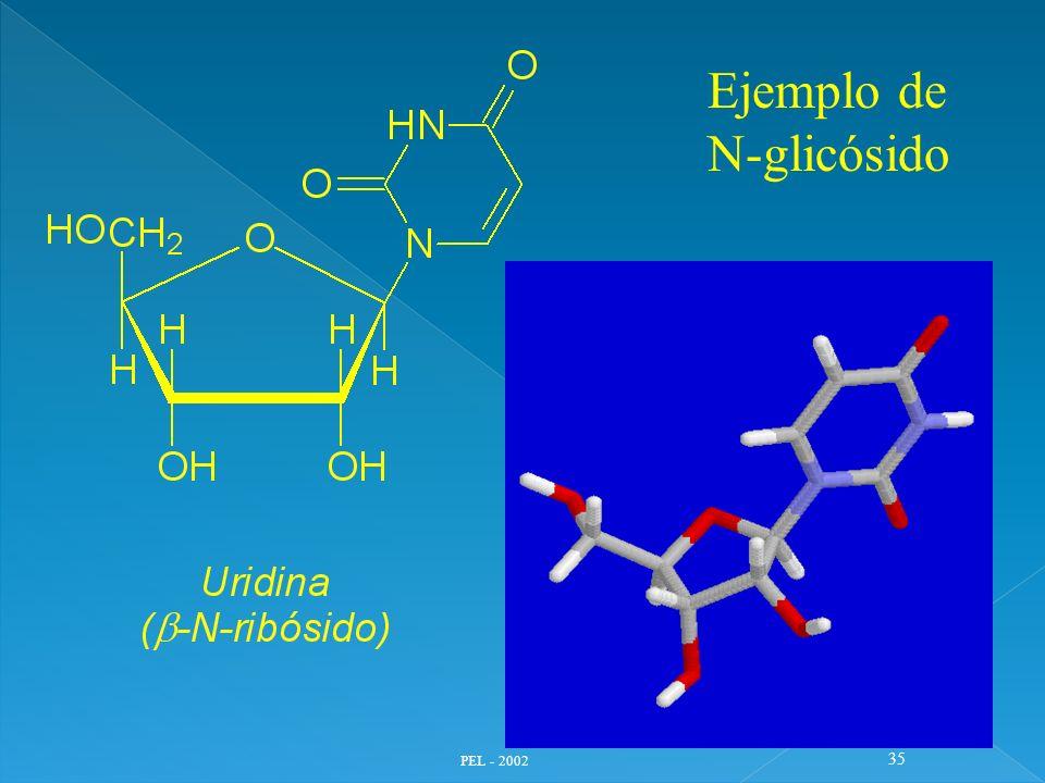 Ejemplo de N-glicósido PEL - 2002