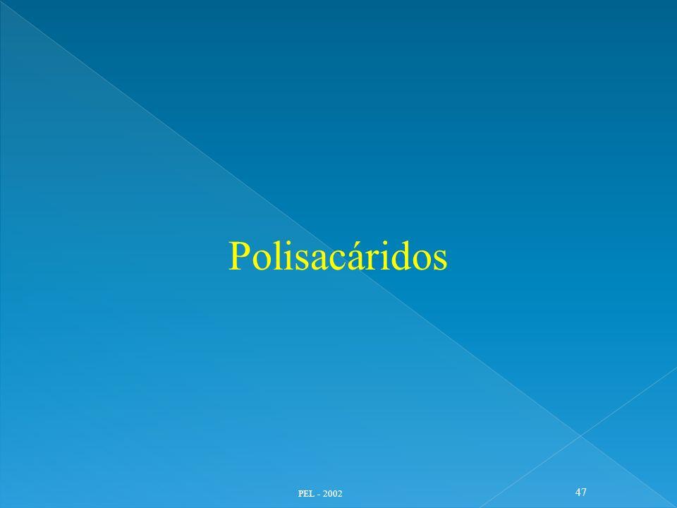 Polisacáridos PEL - 2002