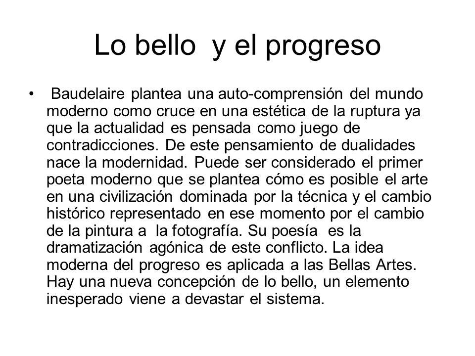 Lo bello y el progreso