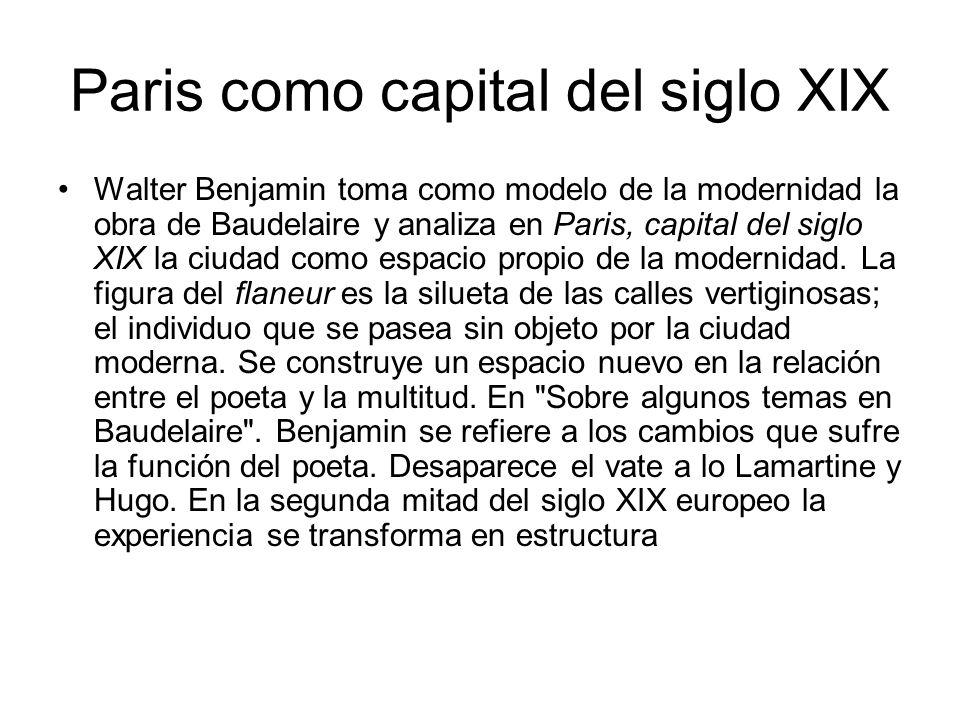 Paris como capital del siglo XIX