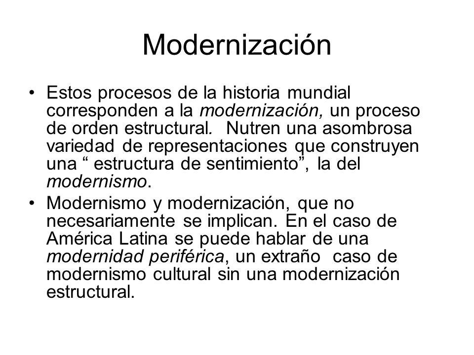 Modernización