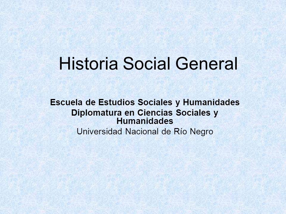 Historia Social General