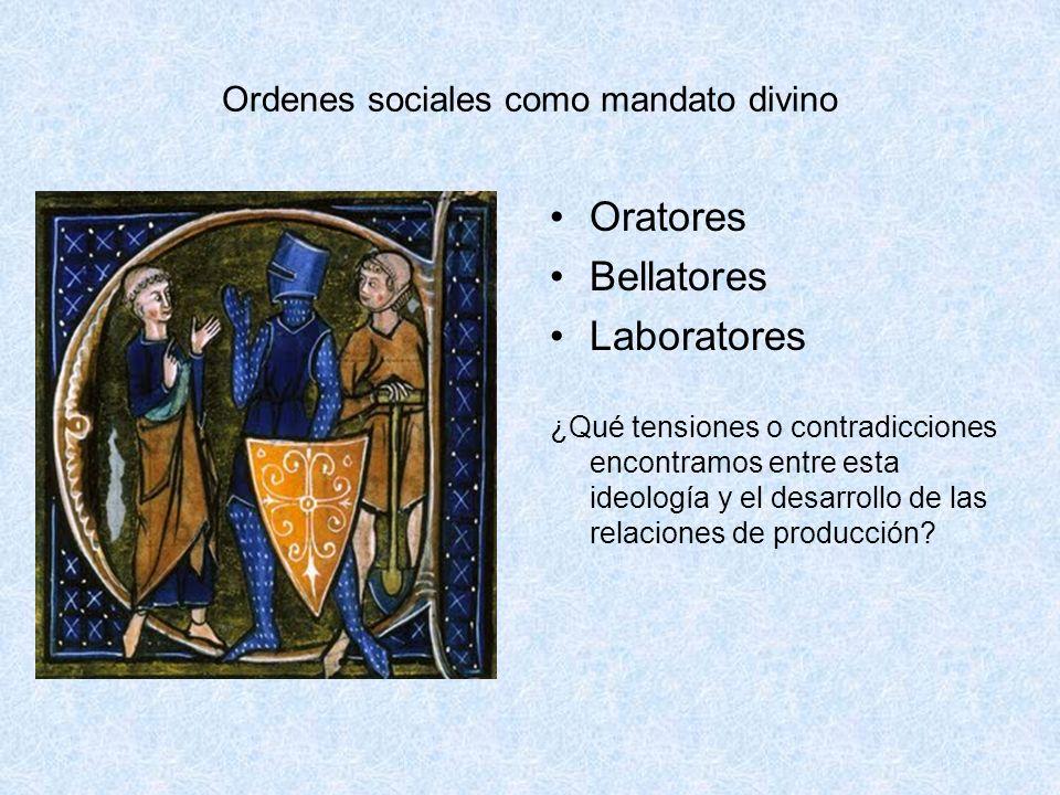 Ordenes sociales como mandato divino