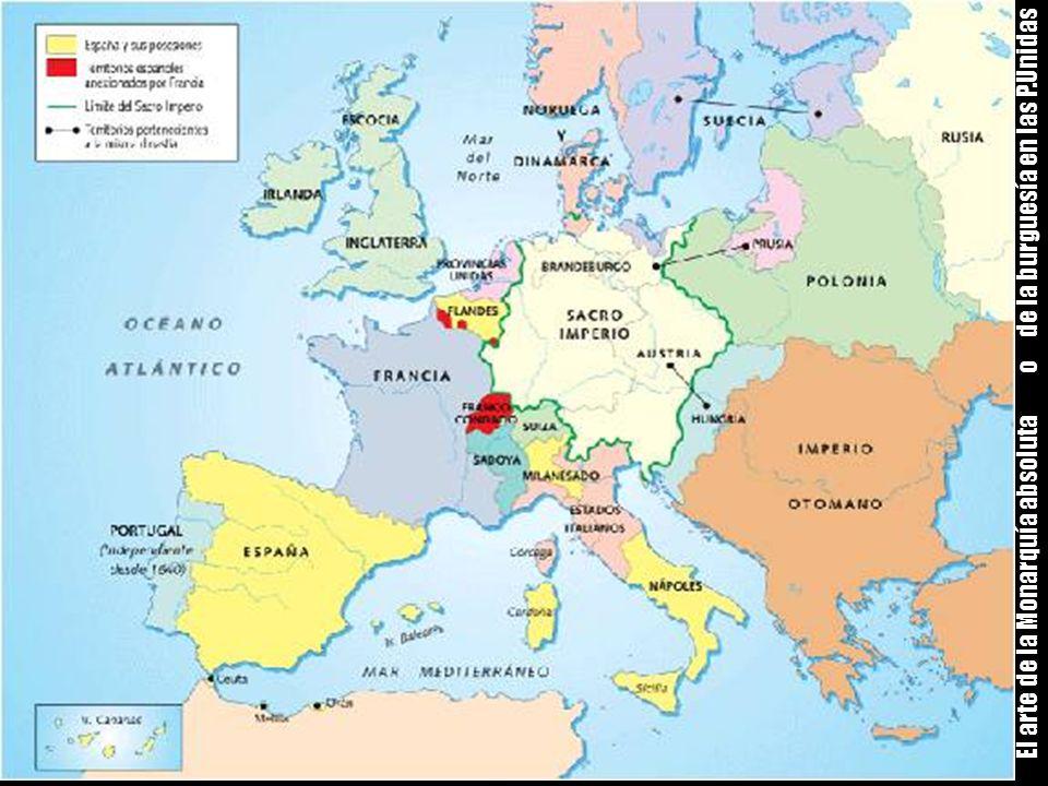 El arte de la Monarquía absoluta o de la burguesía en las P.Unidas