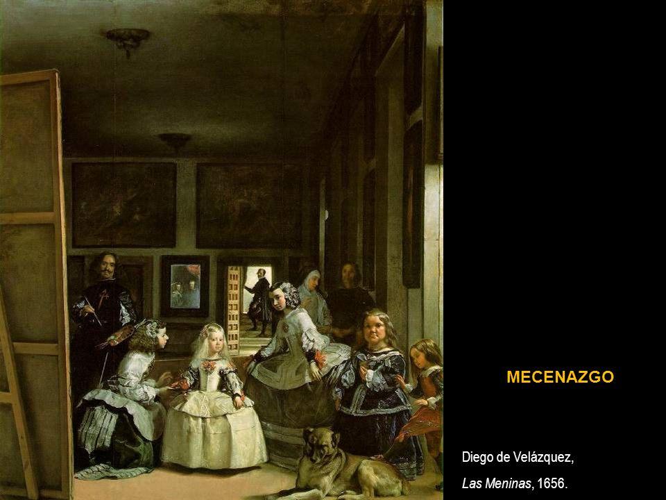 MECENAZGO Diego de Velázquez, Las Meninas, 1656.