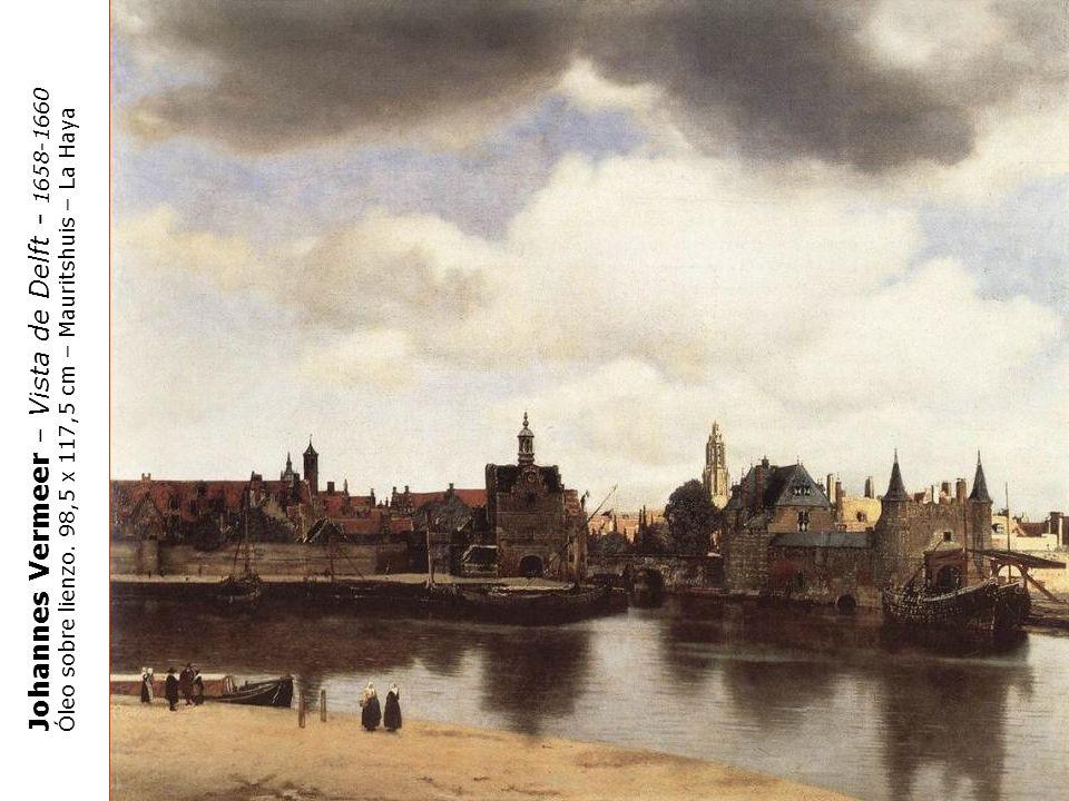 Johannes Vermeer – Vista de Delft - 1658-1660