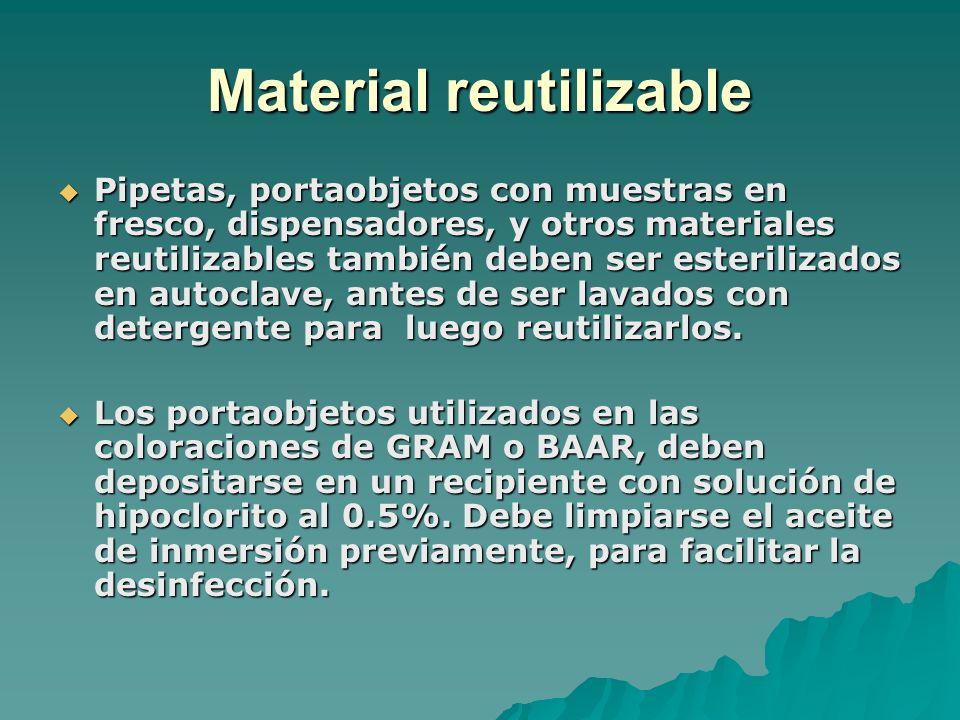 Material reutilizable