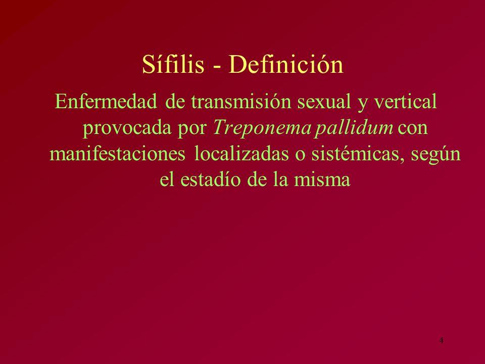 Sífilis - Definición