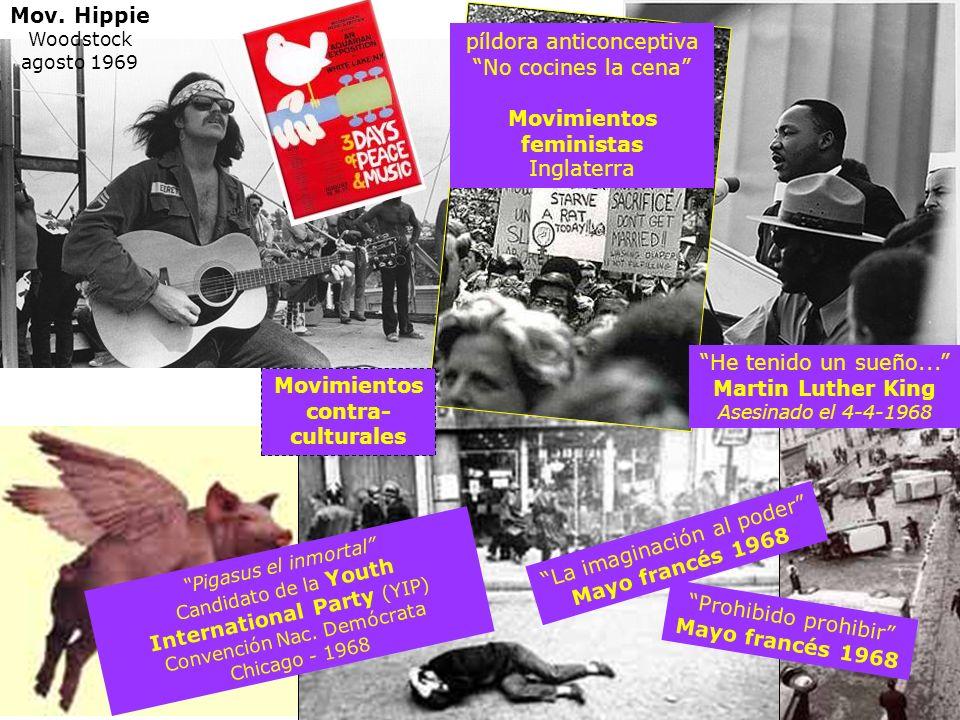 Movimientos feministas Movimientos contra-culturales