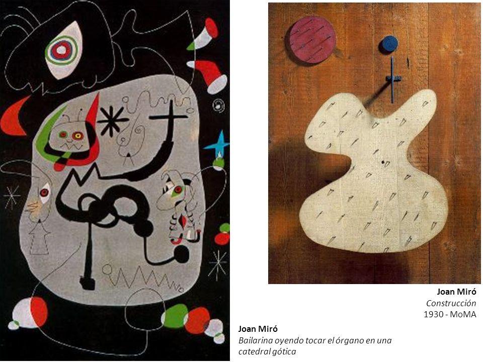 Joan MiróConstrucción.1930 - MoMA. Joan Miró.