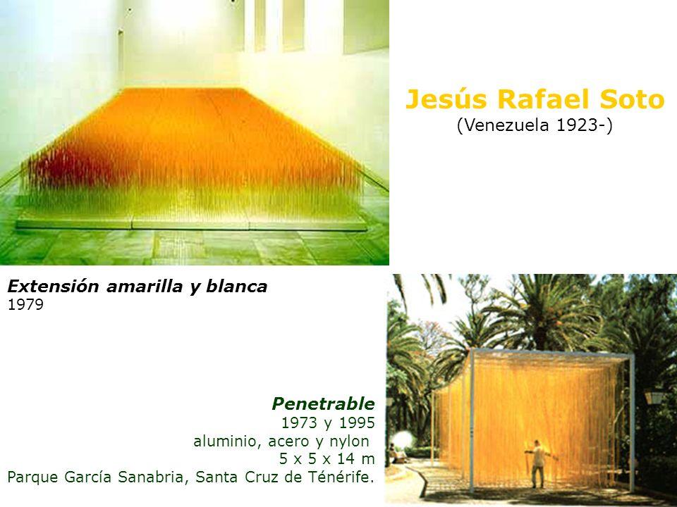 Jesús Rafael Soto (Venezuela 1923-) Extensión amarilla y blanca