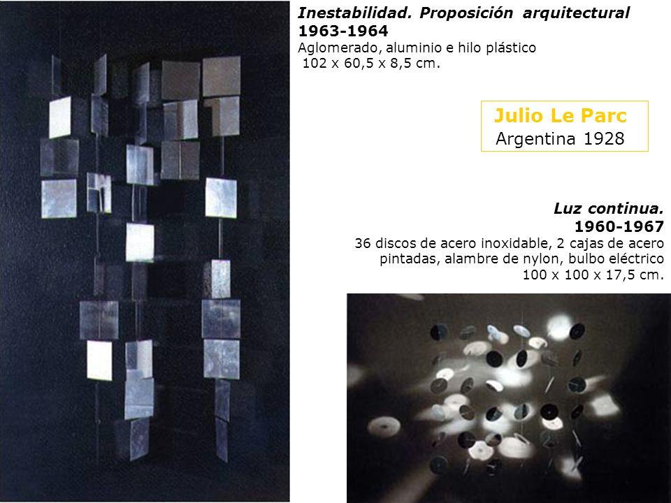 Julio Le Parc (Argentina 1928-)