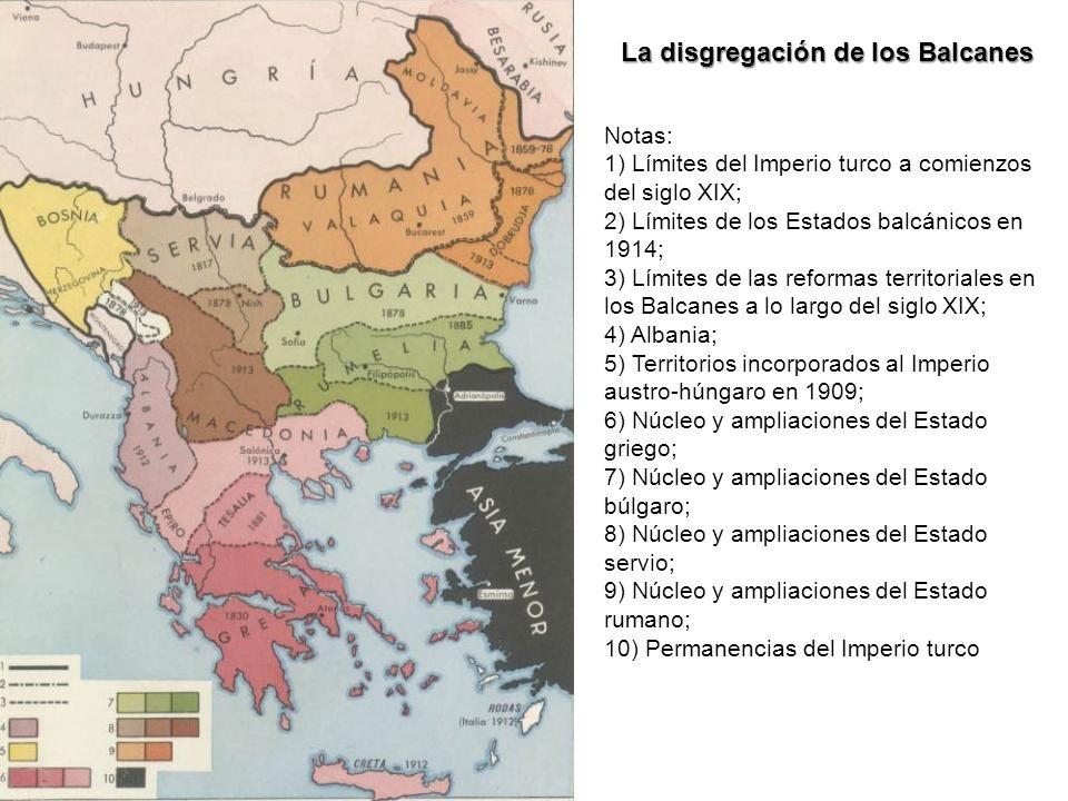 La disgregación de los Balcanes