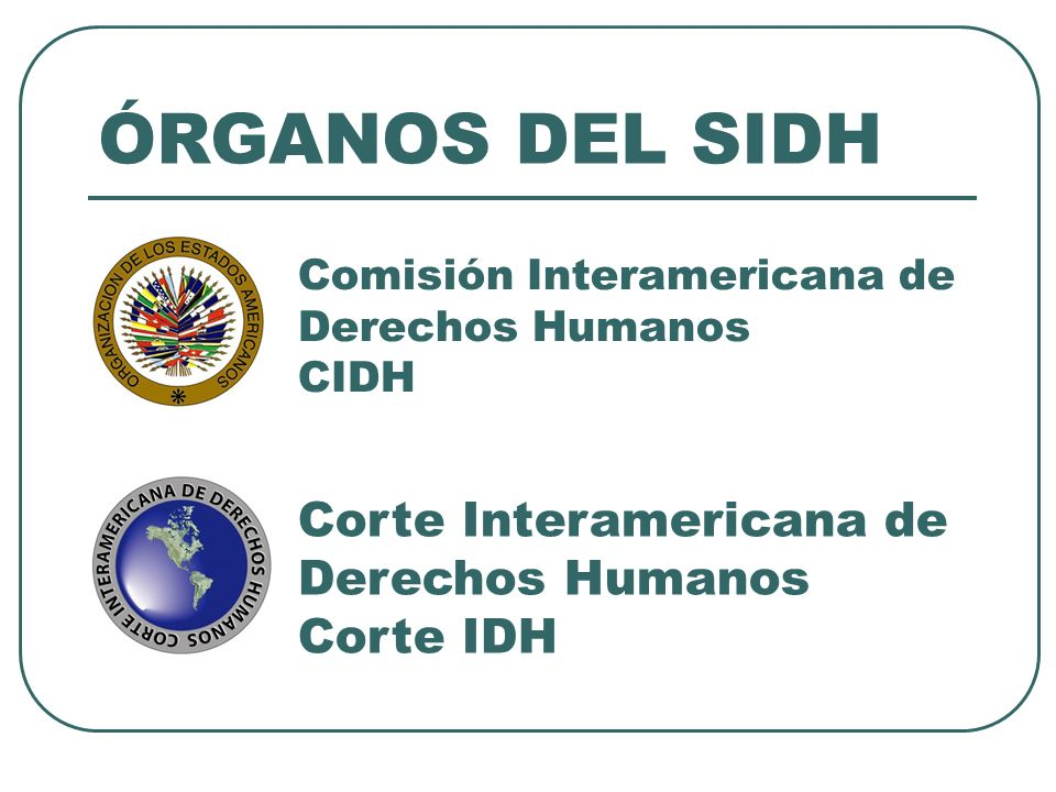 Comisión Interamericana de Derechos Humanos CIDH