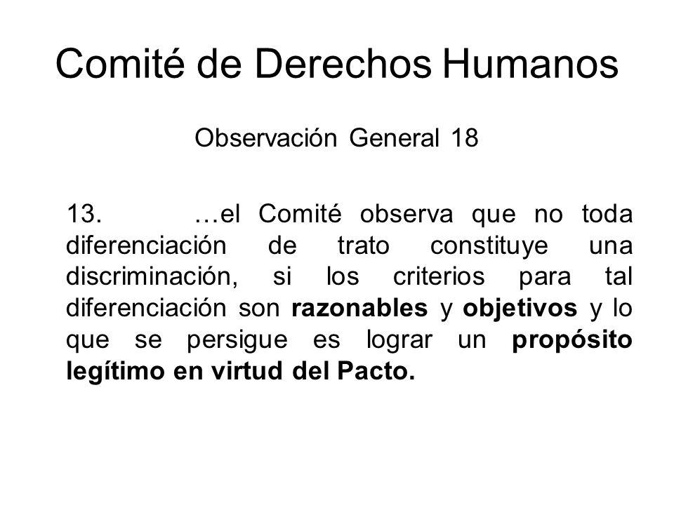 Comité de Derechos Humanos