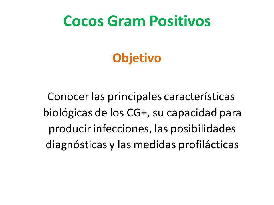 Cocos Gram Positivos Objetivo