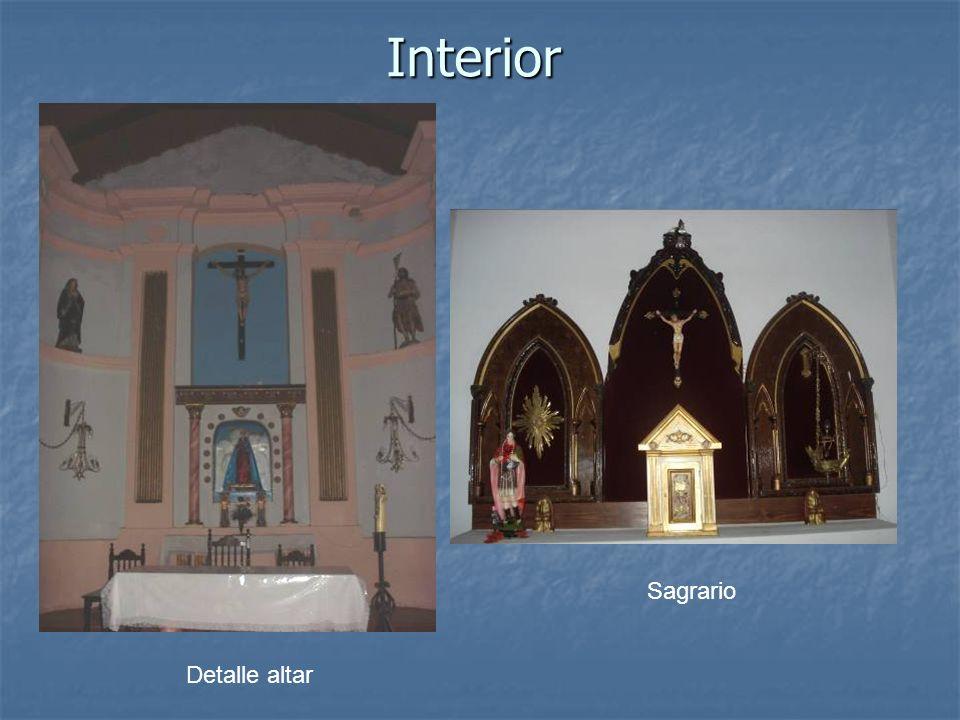 Interior Sagrario Detalle altar