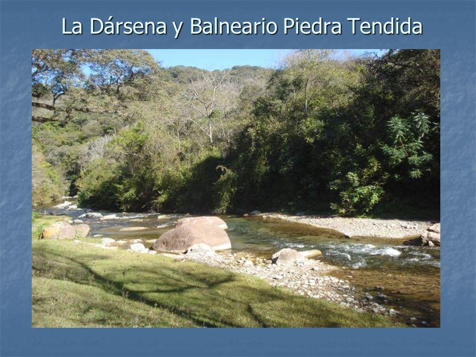 La Dársena y Balneario Piedra Tendida