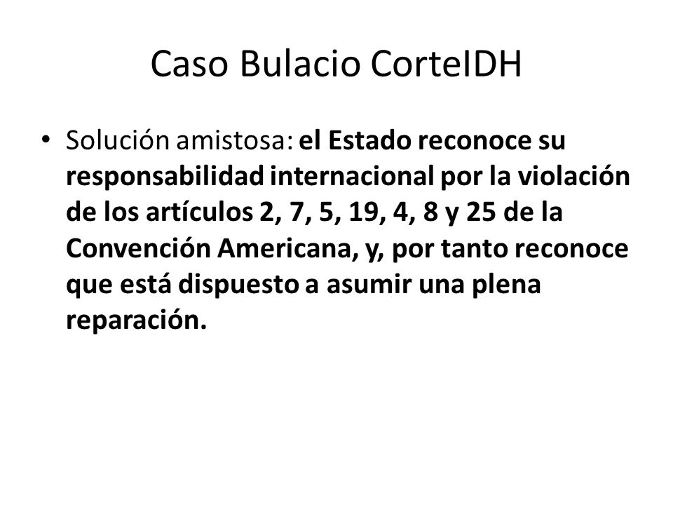 Caso Bulacio CorteIDH