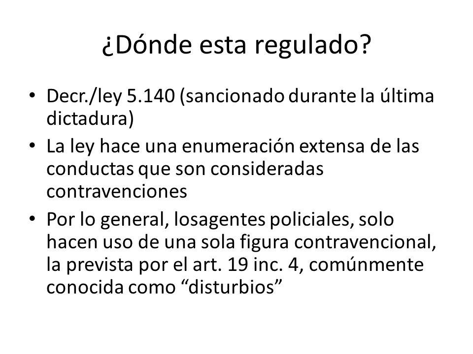 ¿Dónde esta regulado Decr./ley 5.140 (sancionado durante la última dictadura)