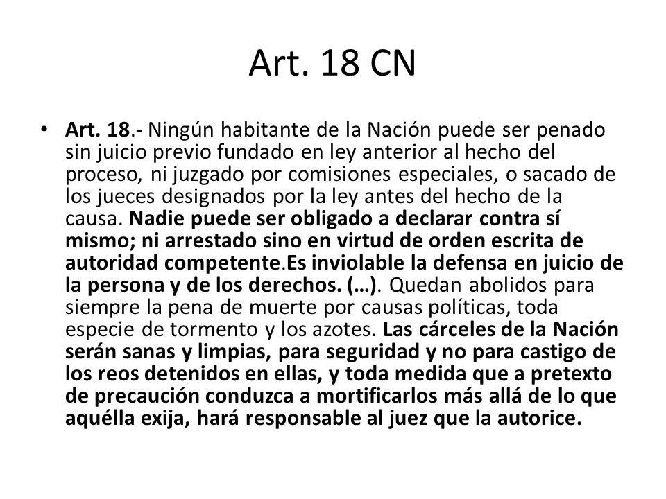 Art. 18 CN
