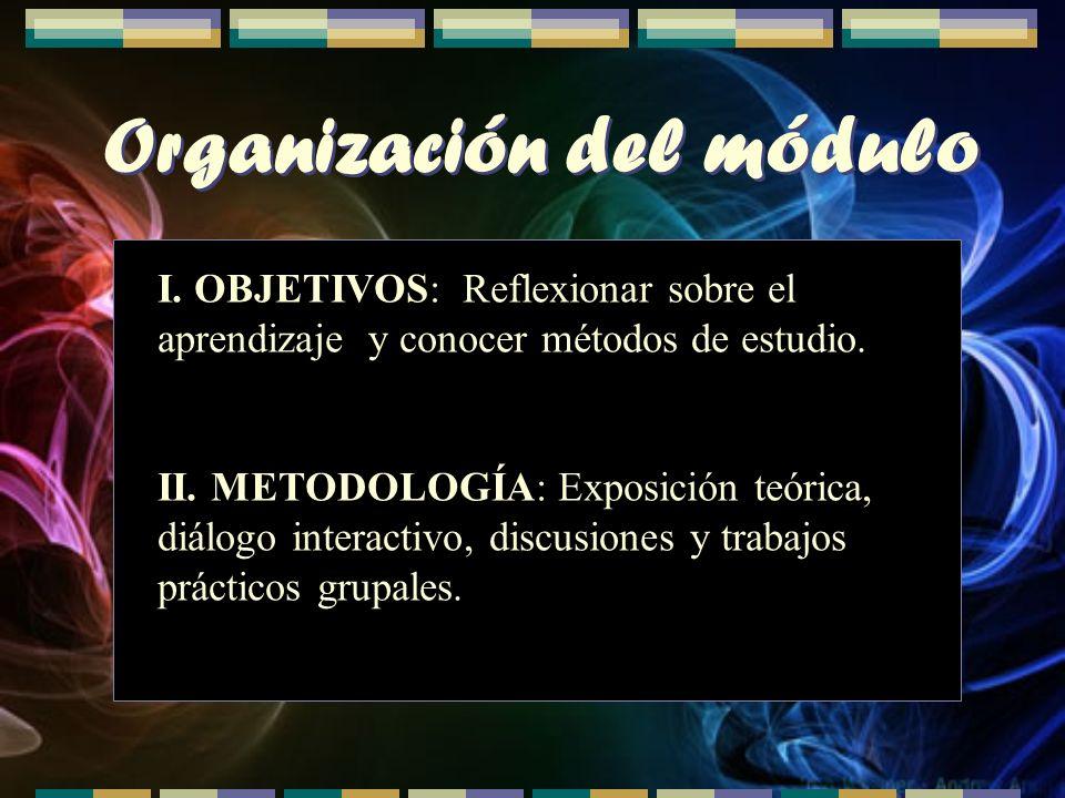 Organización del módulo