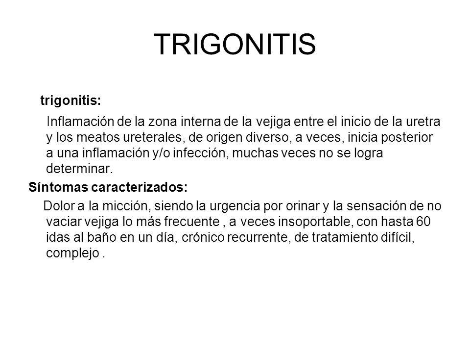 TRIGONITIS trigonitis: