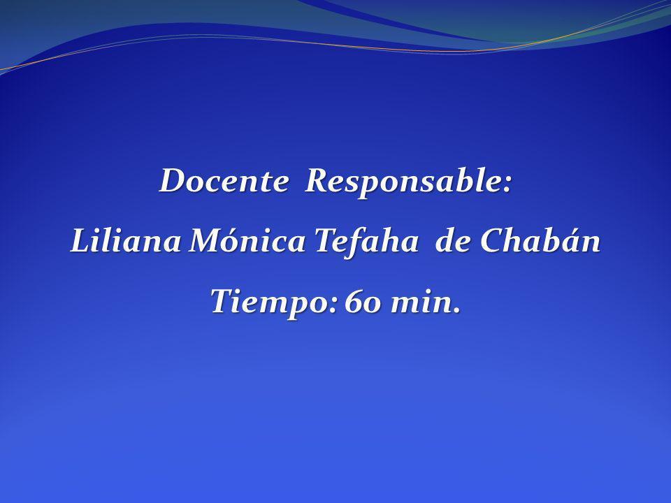 Liliana Mónica Tefaha de Chabán