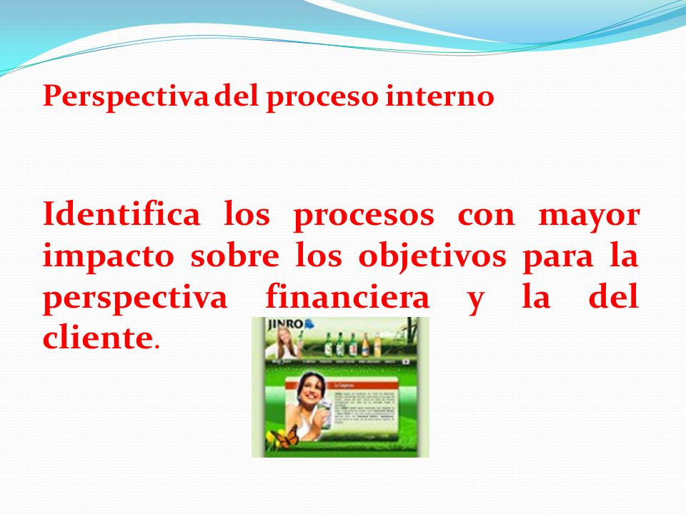 Perspectiva del proceso interno