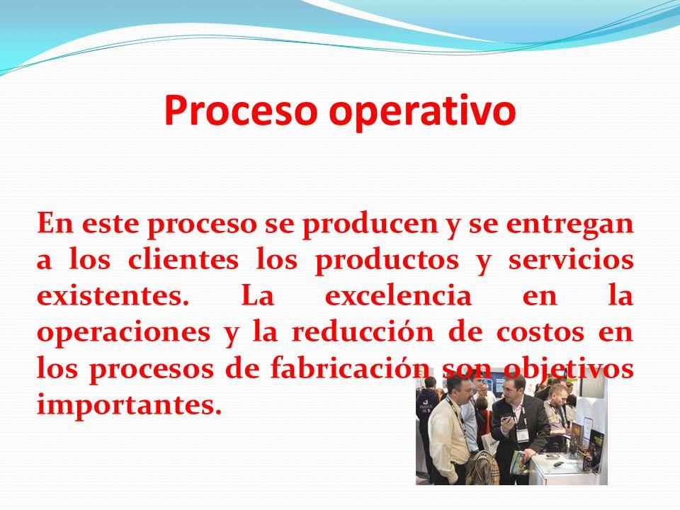 Proceso operativo