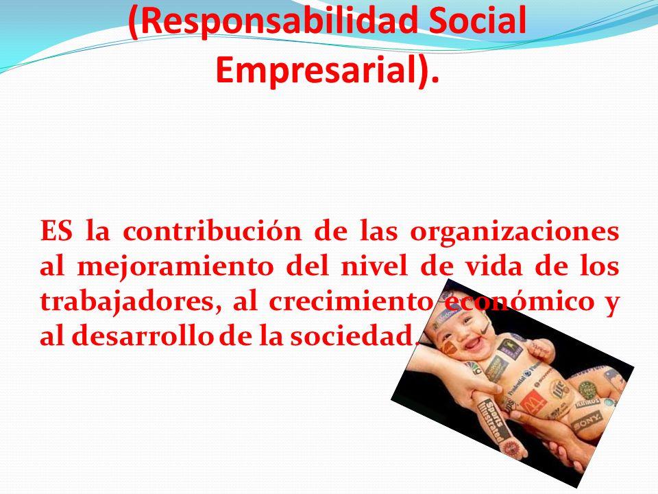 Balance Social (Responsabilidad Social Empresarial).
