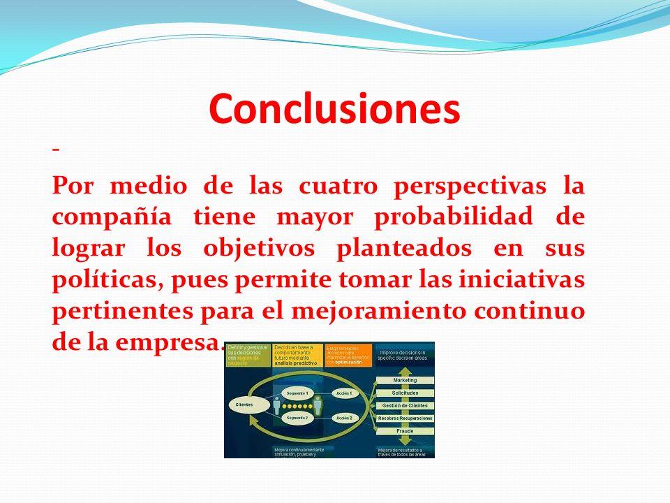 Conclusiones -