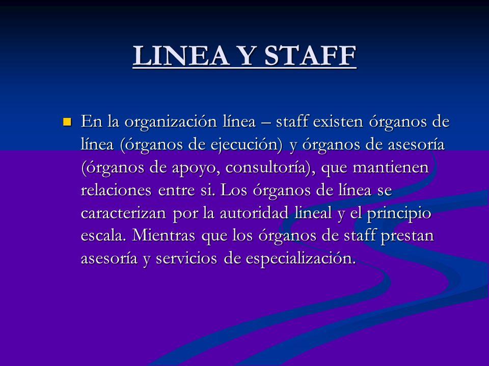 LINEA Y STAFF