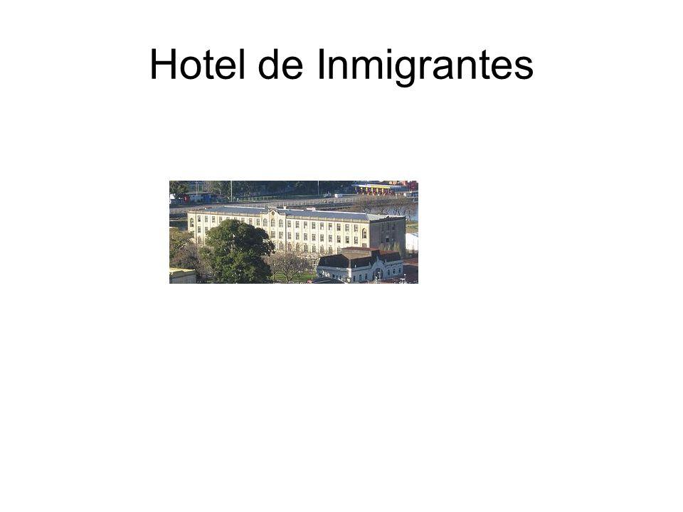Hotel de Inmigrantes