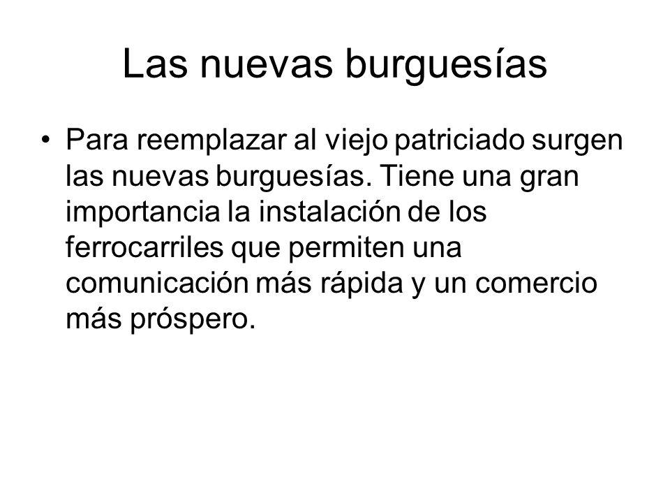 Las nuevas burguesías