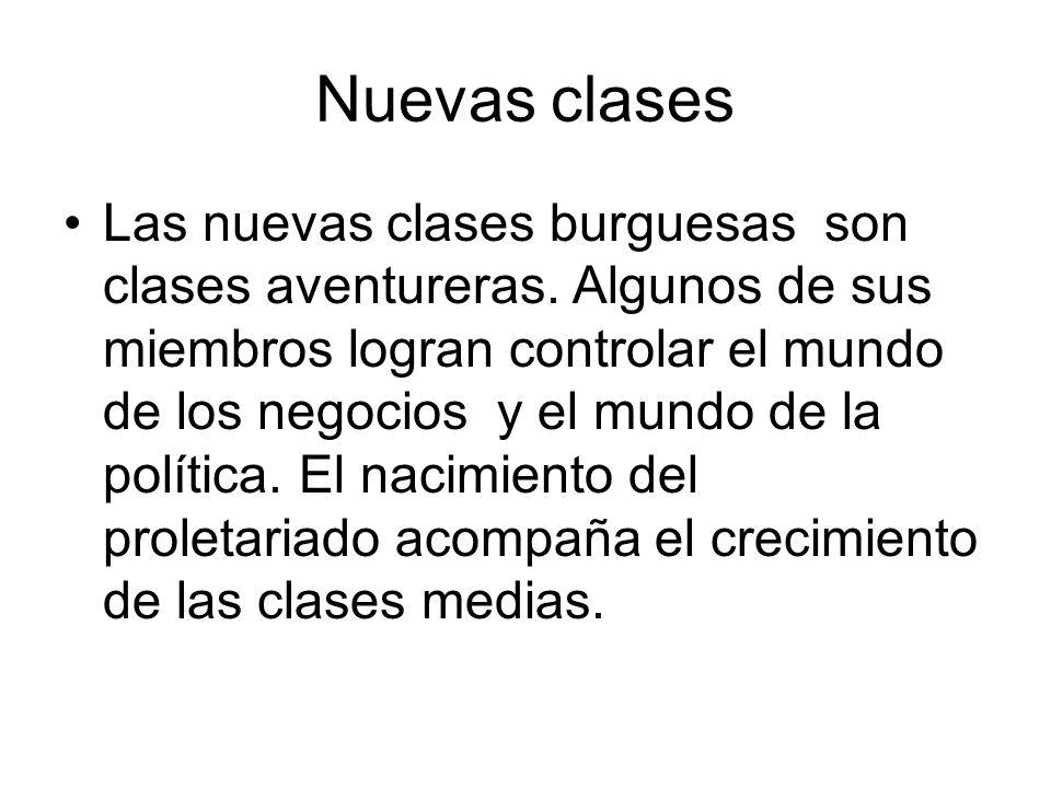 Nuevas clases
