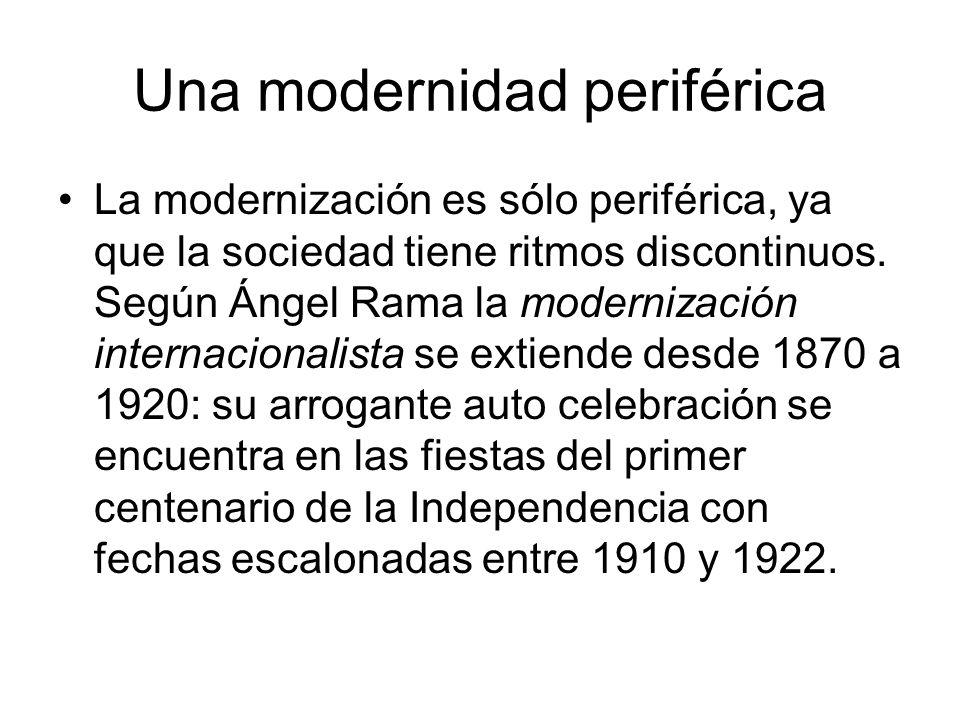 Una modernidad periférica