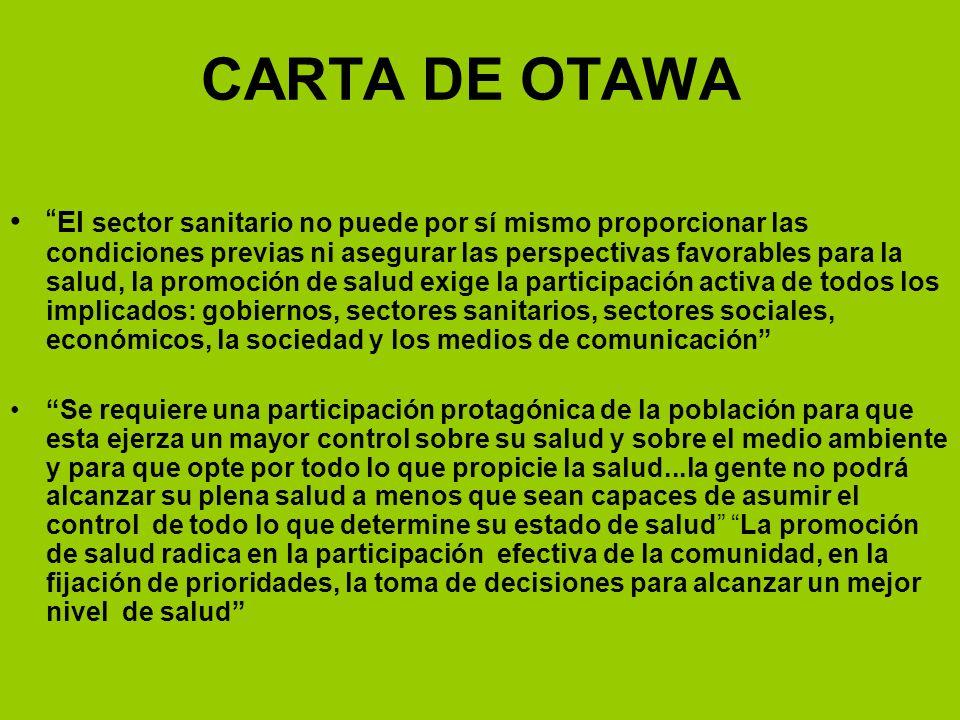 CARTA DE OTAWA